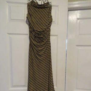 Max Studio Dresses - Ruched Waist Halter Dress